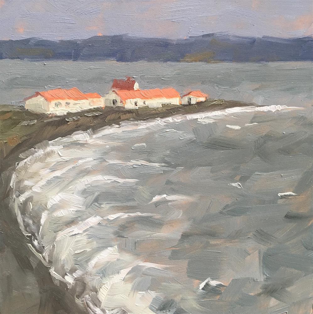 """Windy Day"" original fine art by Tracy Wise"