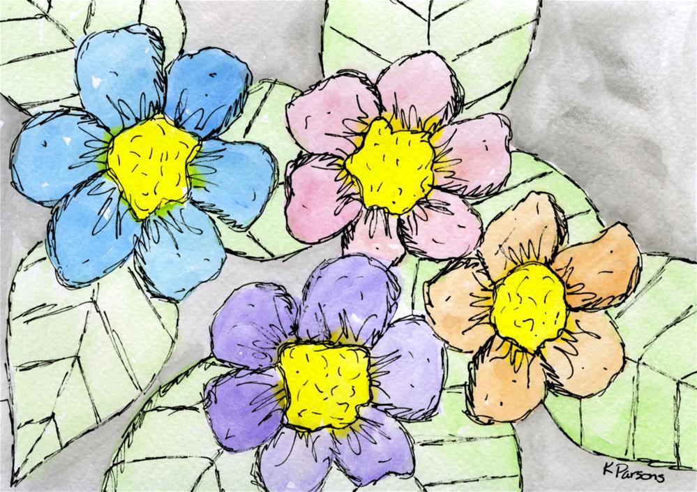 """Spring!"" original fine art by Kali Parsons"