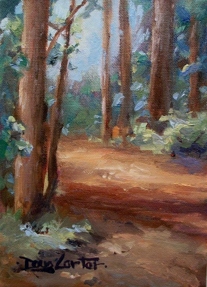 """ Whats all this Green Stuff"" original fine art by Doug Carter"