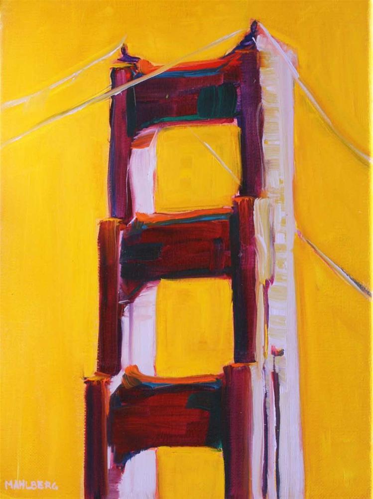 """The Gate"" original fine art by Cynthia Mahlberg"