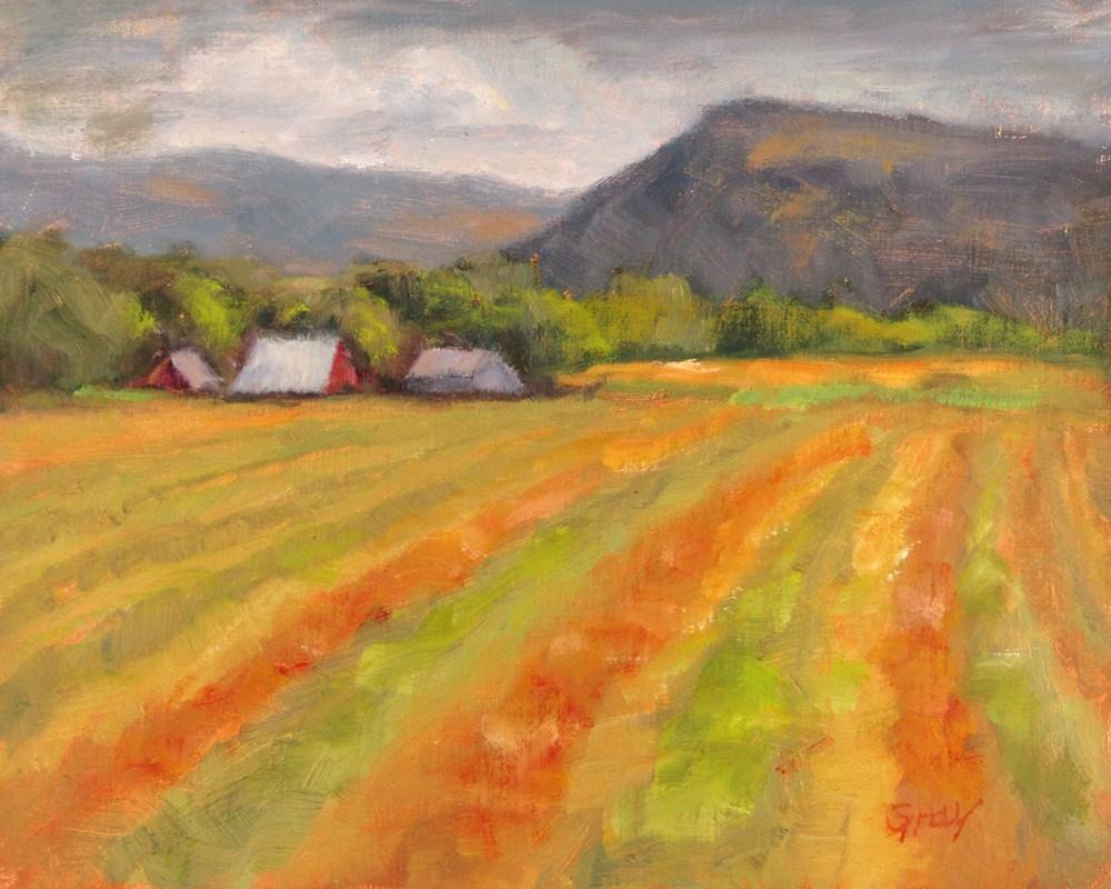 """Windrows No. 2"" original fine art by Naomi Gray"