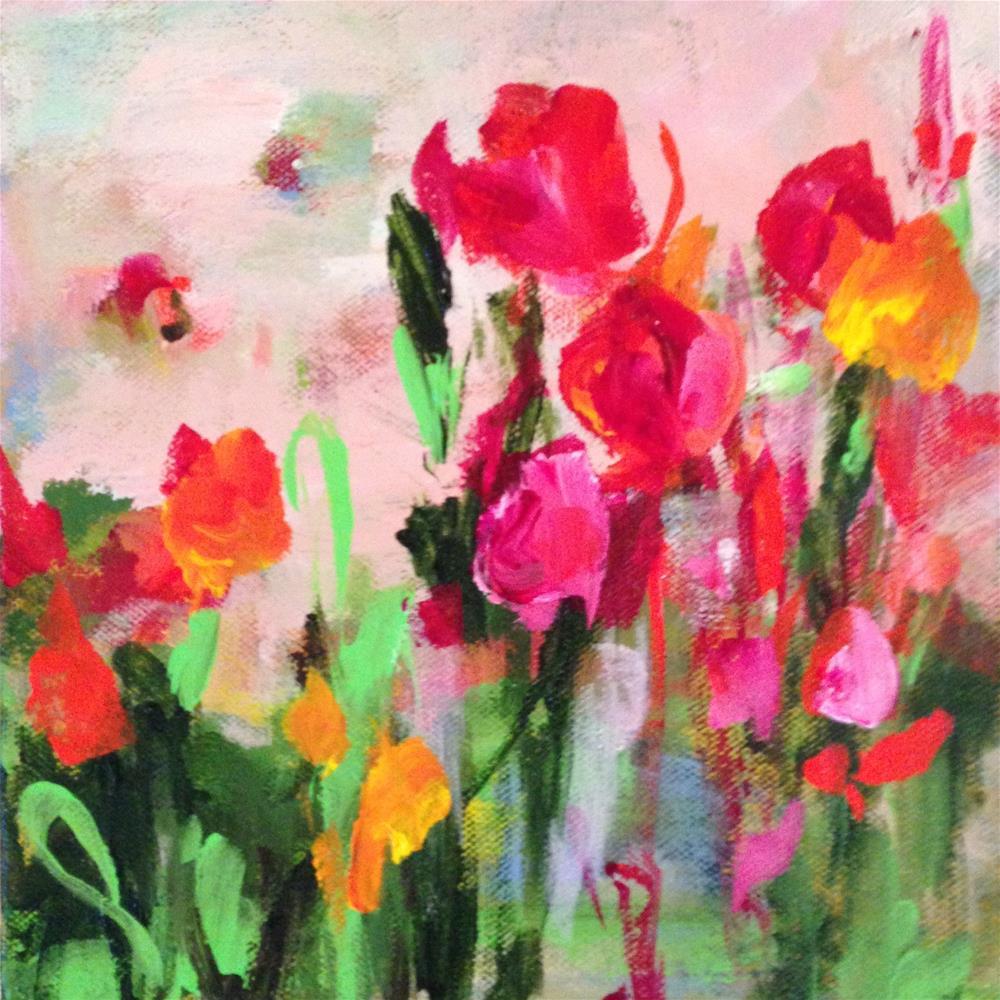"""Thrive"" original fine art by Molly Wright"