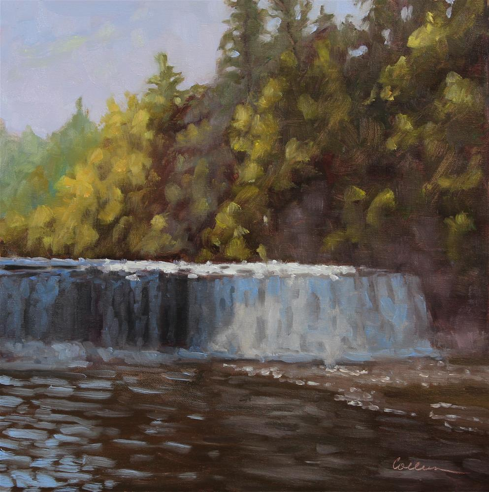 """The Lower Falls"" original fine art by Colleen Parker"