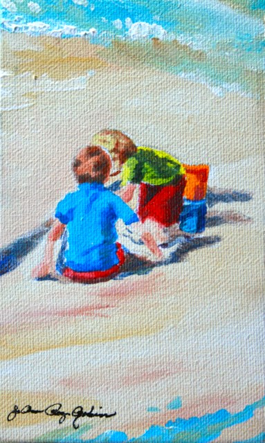 """Child's Play"" original fine art by JoAnne Perez Robinson"