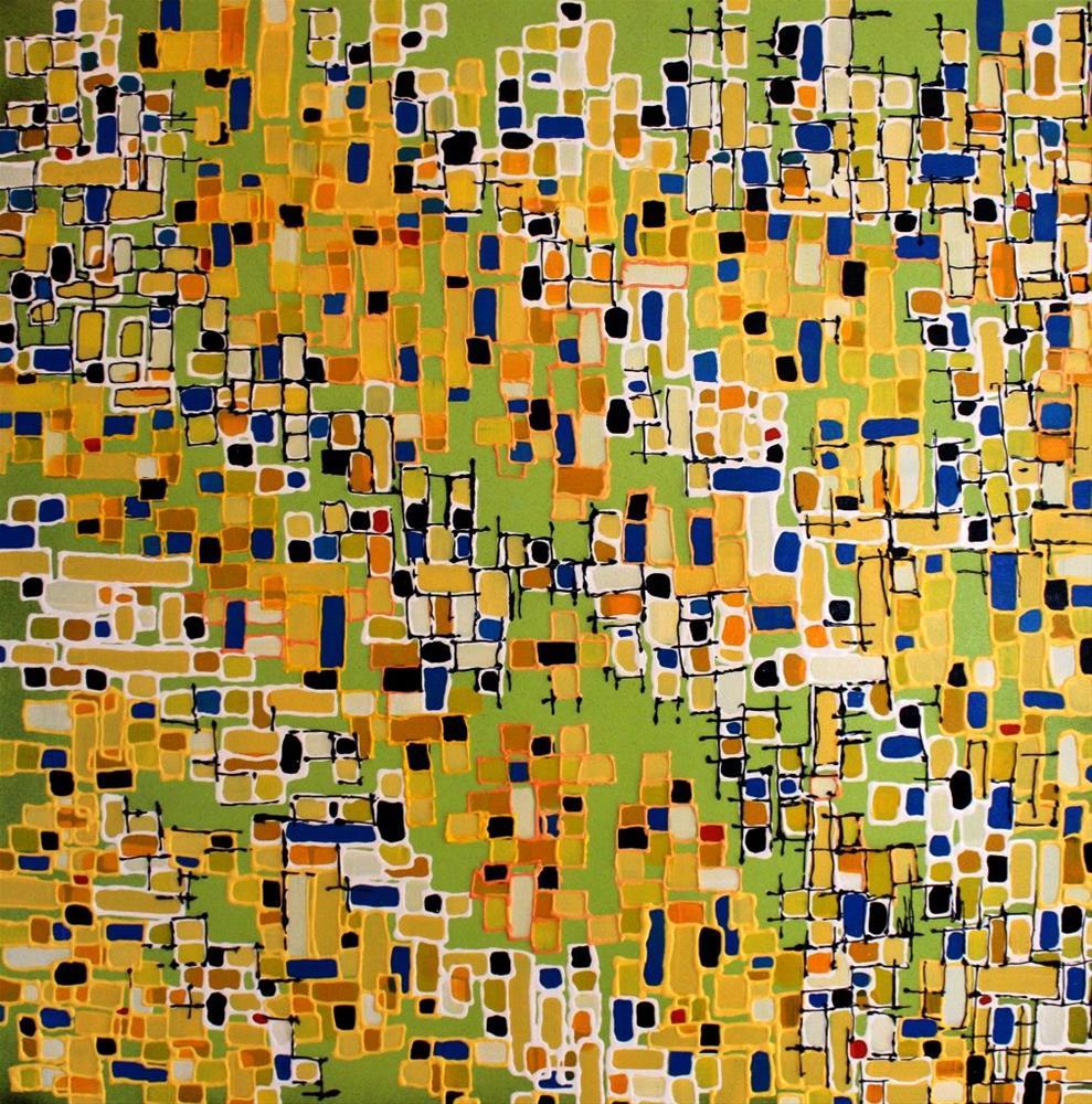 """Mosaic"" original fine art by Khrystyna Kozyuk"
