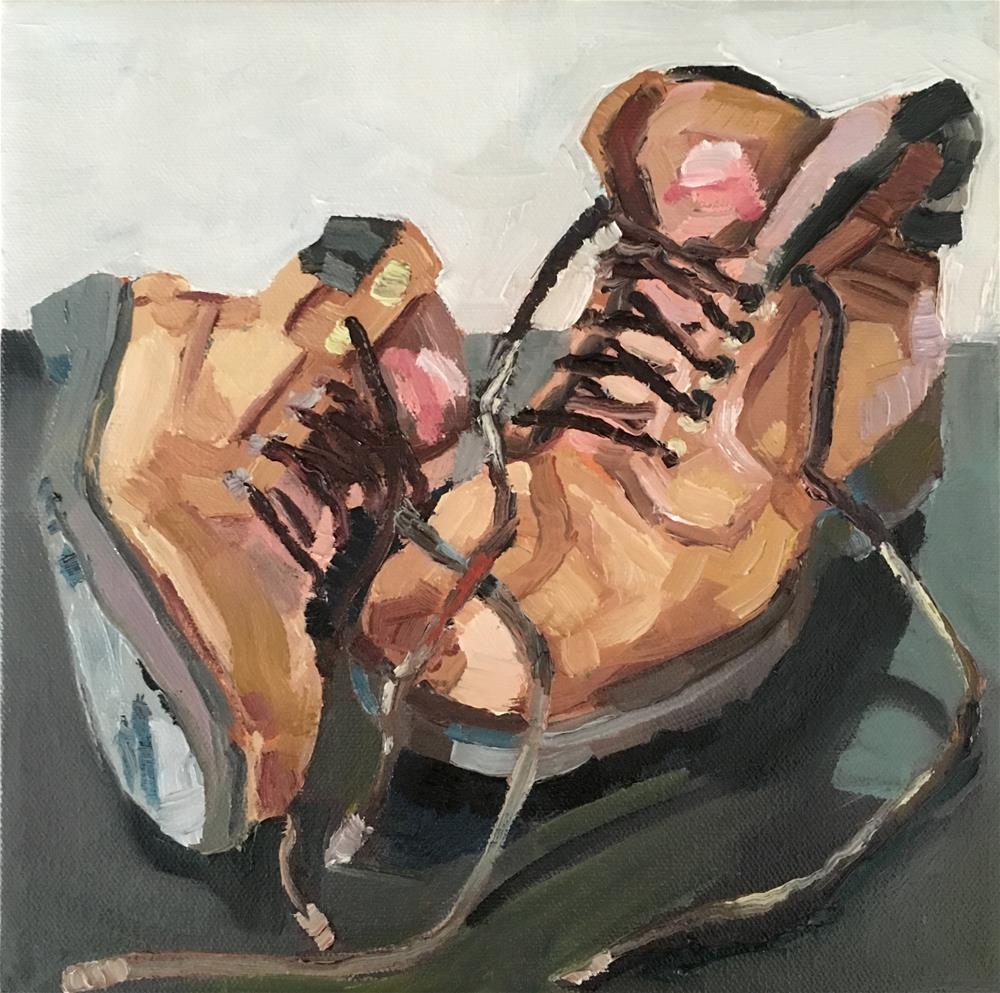 """shoes"" original fine art by Milda Vaitiekunaite"