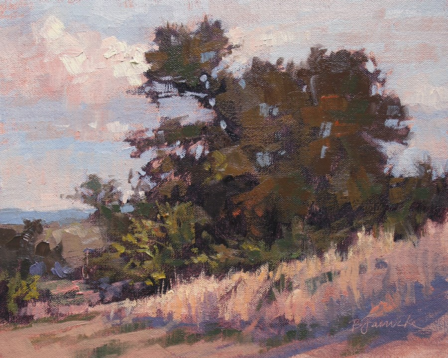 """August Afternoon"" original fine art by Barbara Jaenicke"