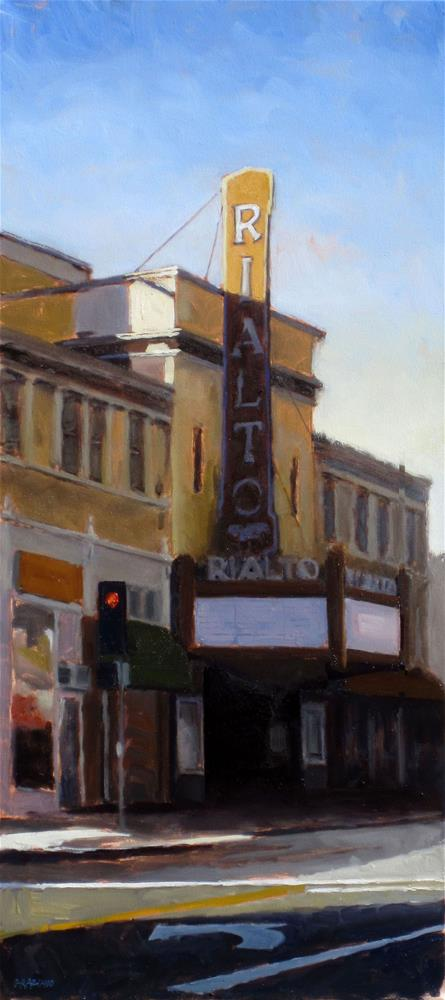 """afternoon matinee"" original fine art by Dan Graziano"