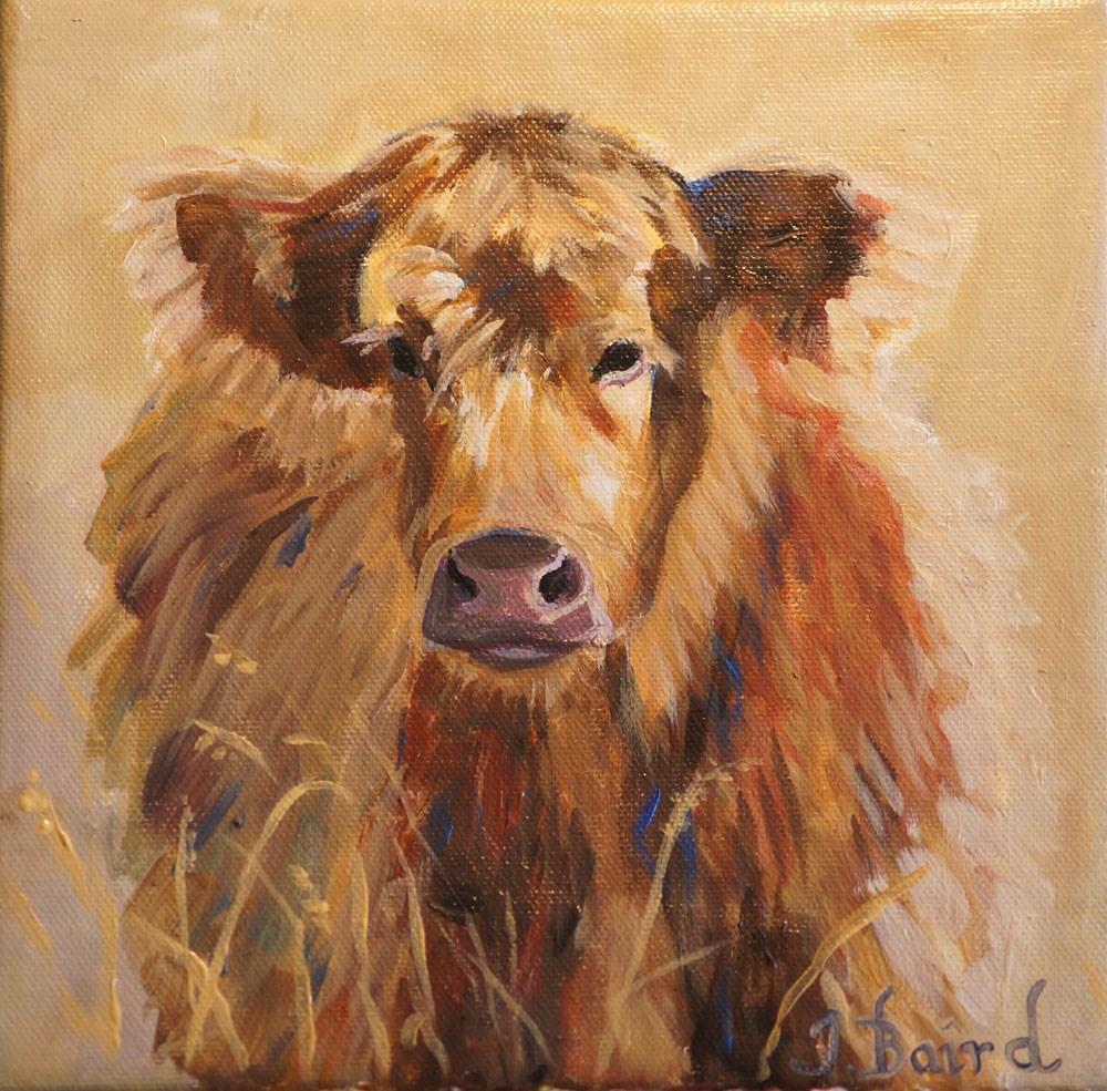 """Bertie"" original fine art by Jeanette Baird"