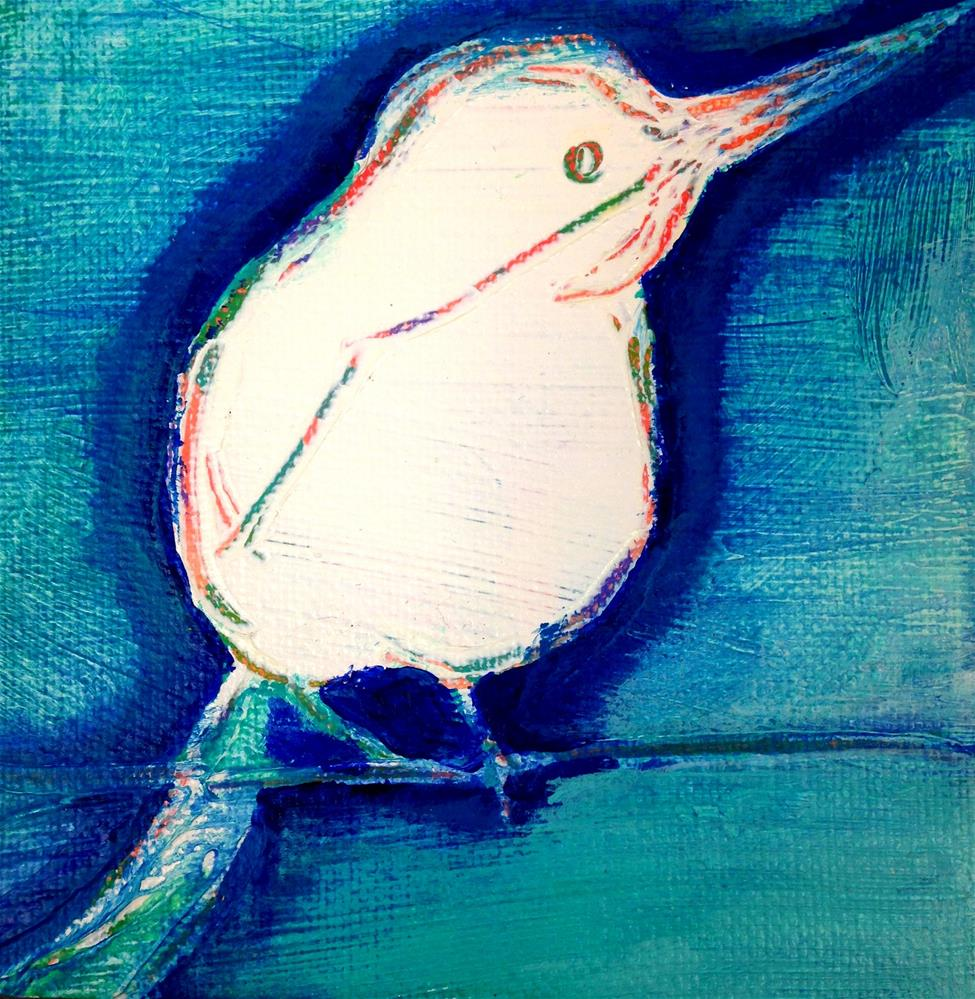 """Beaked Buddy"" original fine art by Nicole Saunders"