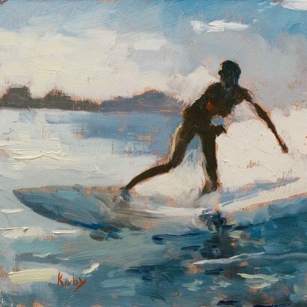 """Erica Hosseini 2"" original fine art by Randall Cogburn"