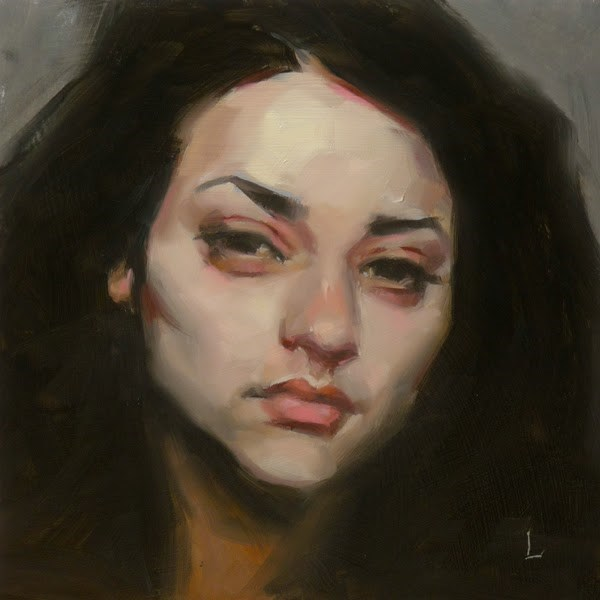 """Creeping Pink"" original fine art by John Larriva"