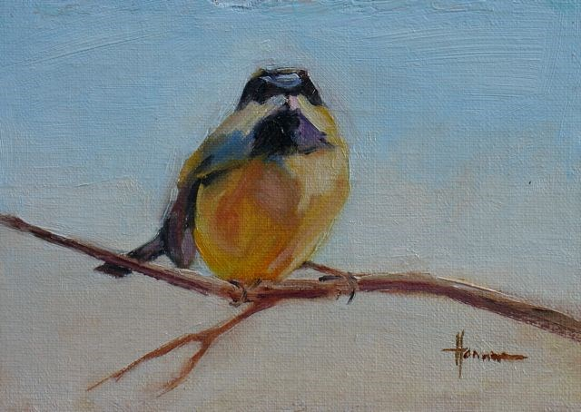 """Sparrow"" original fine art by Susan Hammer"