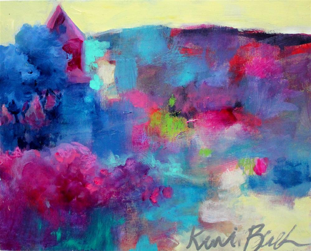 """The Colors of Home"" original fine art by Kerri Blackman"