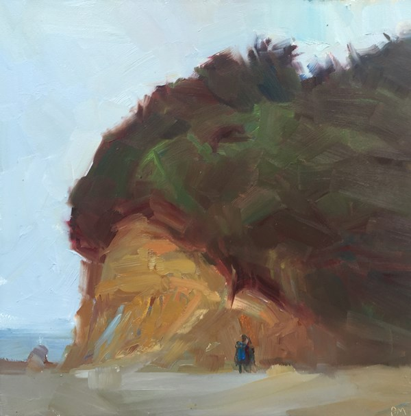 """Southern Coastal View at Fogerty Creek"" original fine art by Patti McNutt"