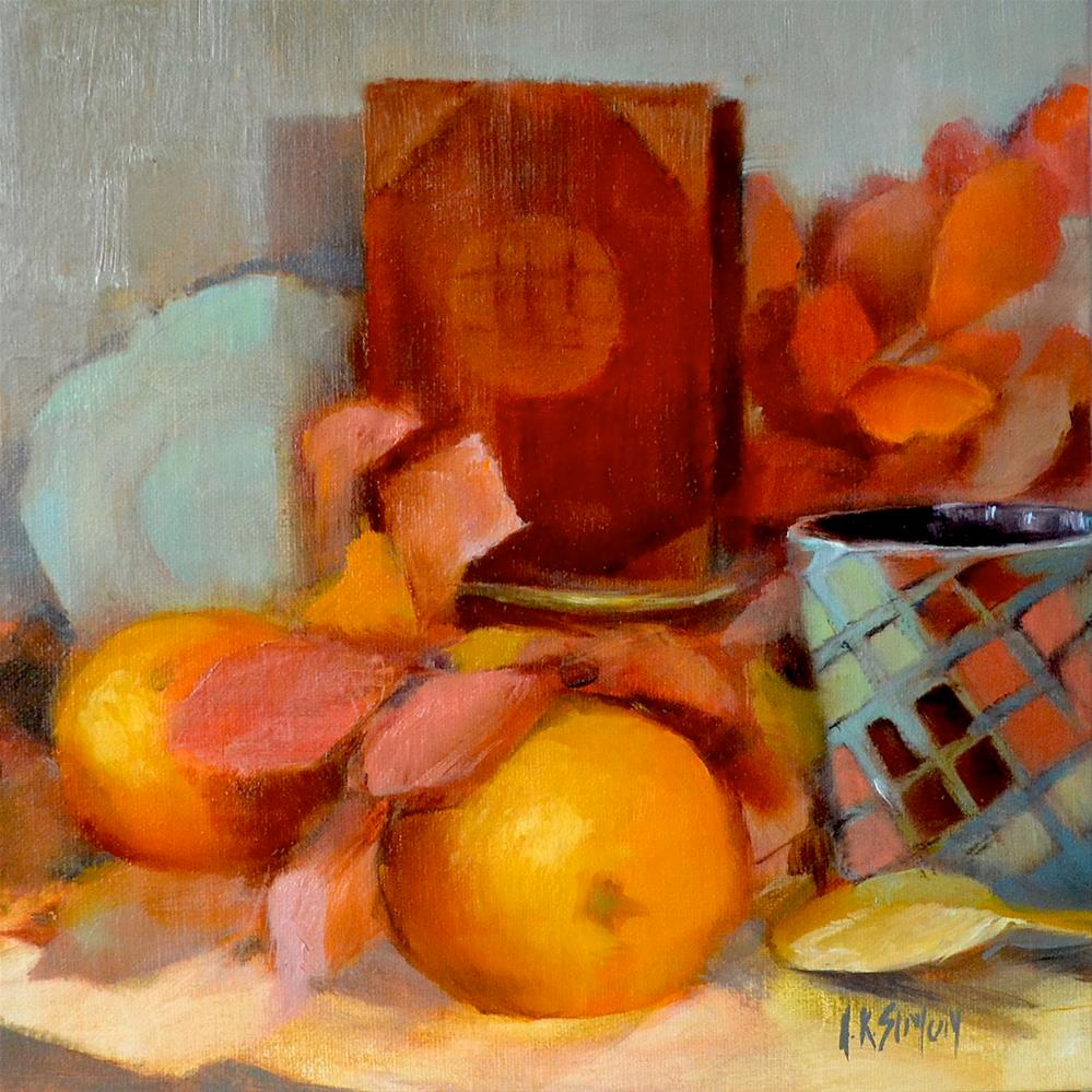 """Orange Pekoe and the Golden Spoon"" original fine art by A.K. Simon"