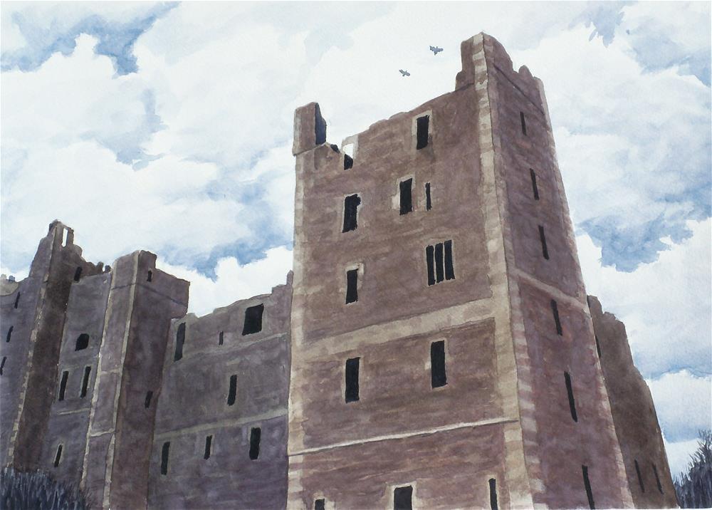 """Bolton Castle"" original fine art by Greg Arens"
