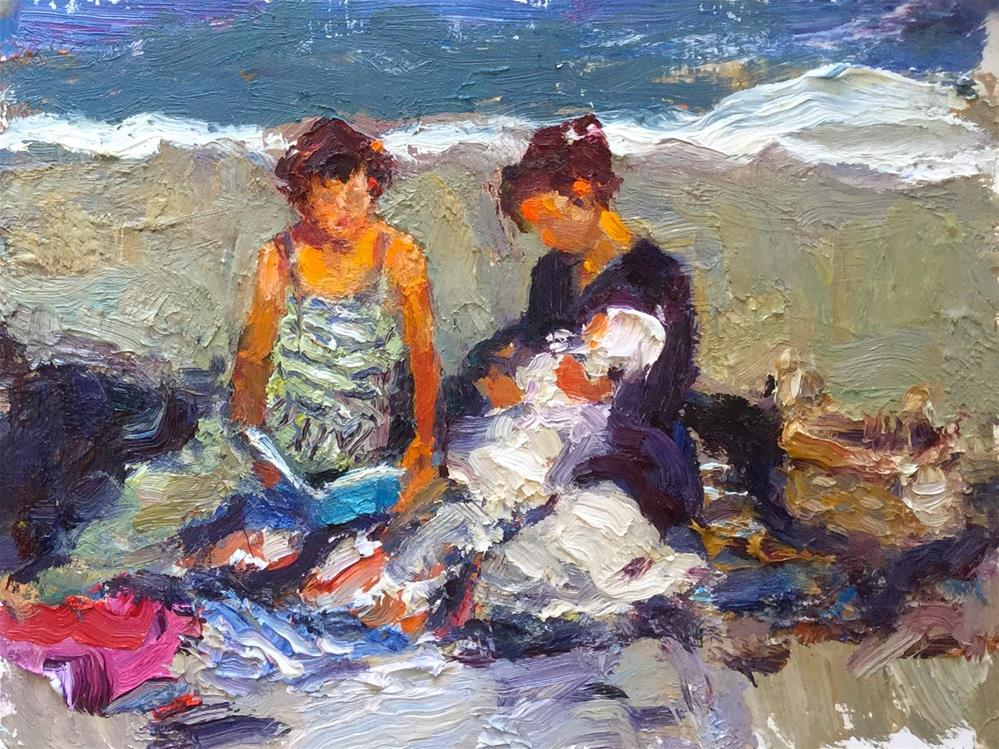 """Together"" original fine art by Marileigh Schulte"