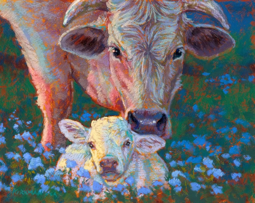 """Baby and Pearl"" original fine art by Rita Kirkman"
