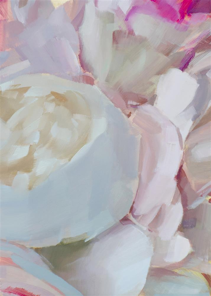 """Bouquet Petals (no.139)"" original fine art by Michael William"