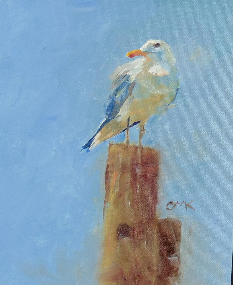 """Reedville Resident 1"" original fine art by Catherine Kauffman"