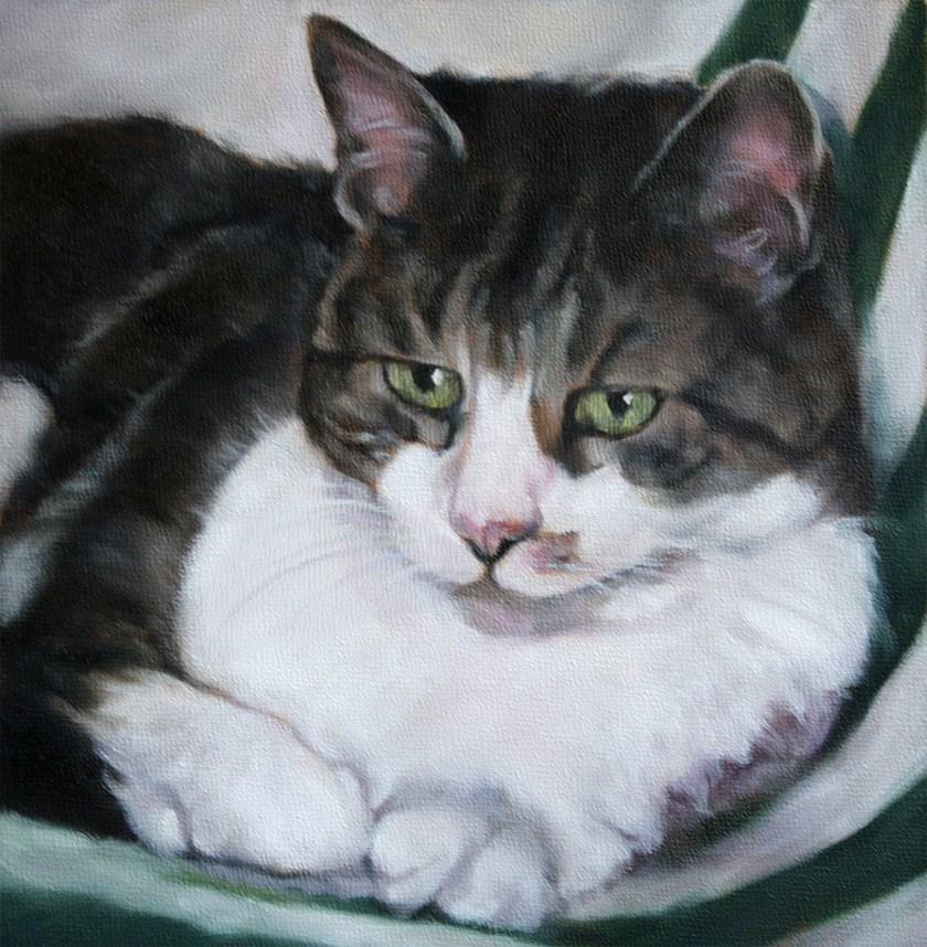 """Pensive"" original fine art by Carolyn McQuarters"