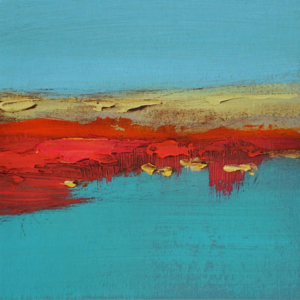 """Landscape 210"" original fine art by Ewa Kunicka"