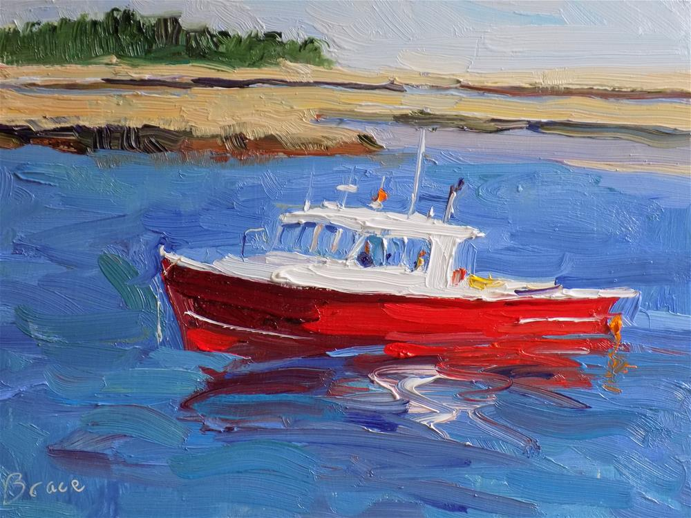 """Marshfield"" original fine art by Rita Brace"