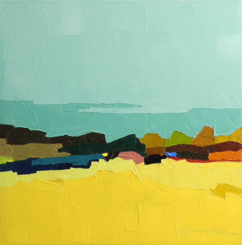 """Seaview V"" original fine art by Donna Walker"