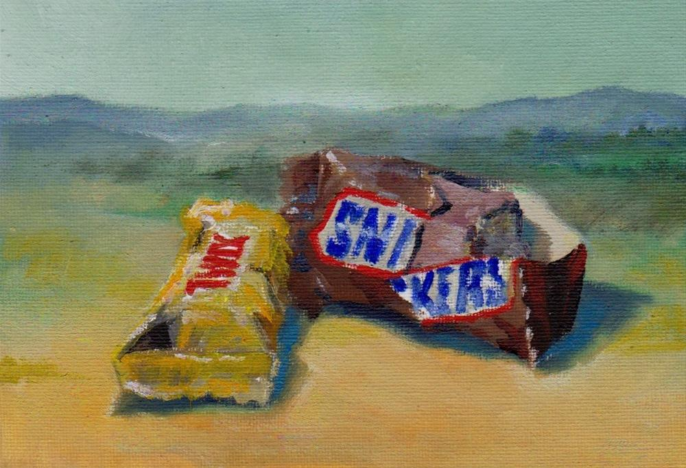 """candy"" original fine art by V. DeBak"