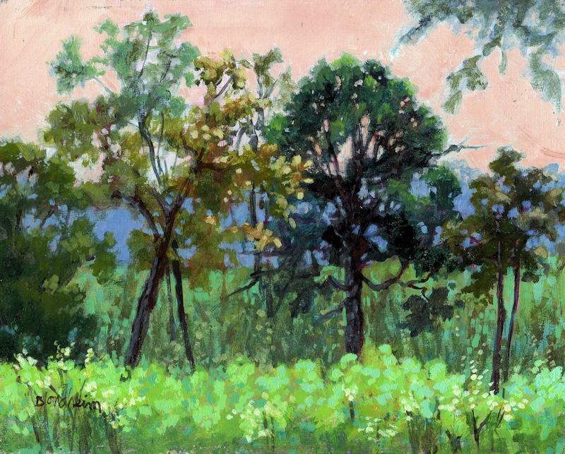 """""""Tuscawilla Summer"""" original fine art by Linda Blondheim"""