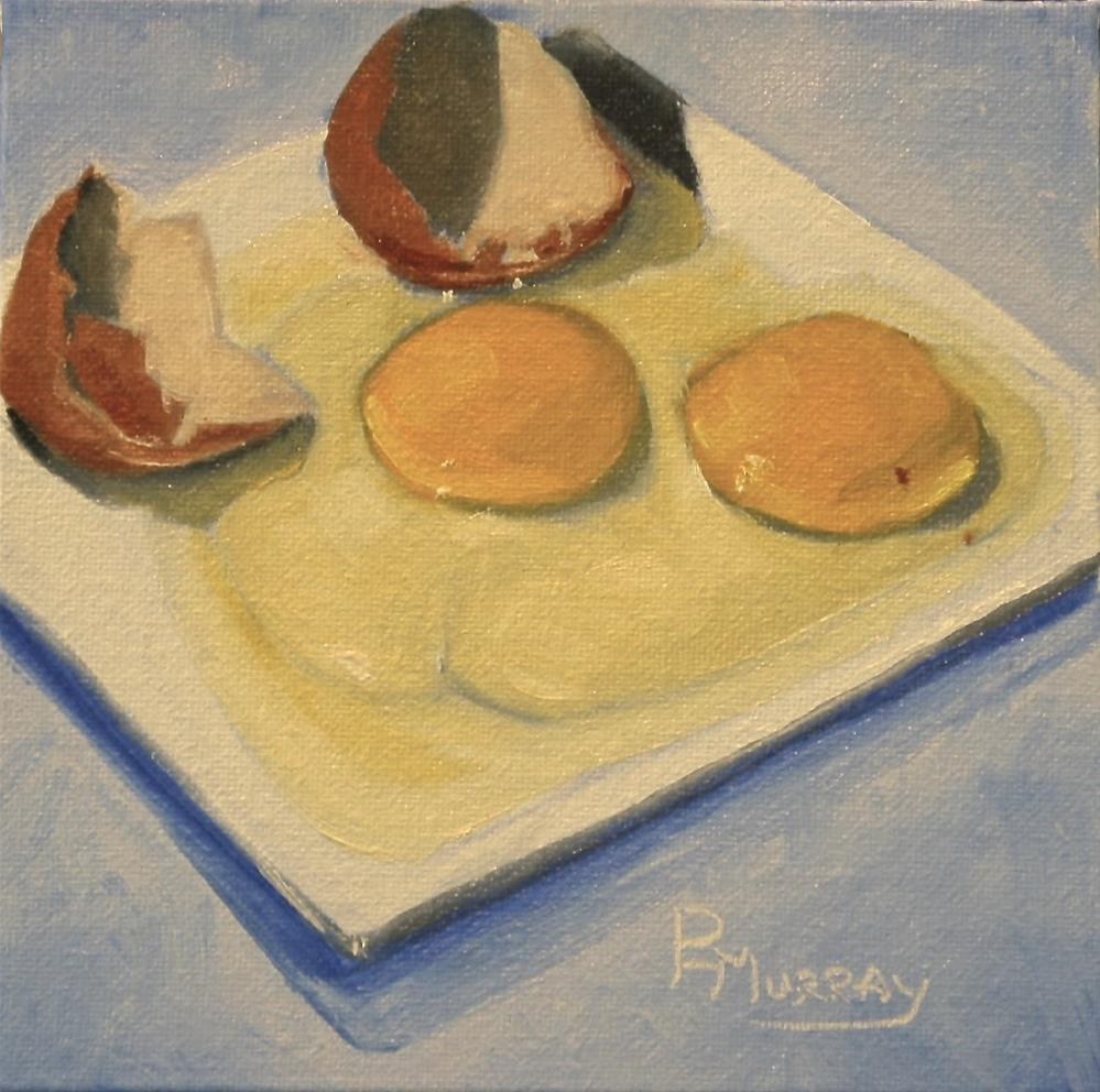 """""""Two for One"""" original fine art by Patricia Murray"""
