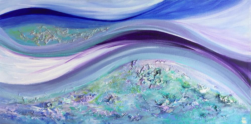 """5095 - Ocean Breeze - Exhibition Size"" original fine art by Sea Dean"