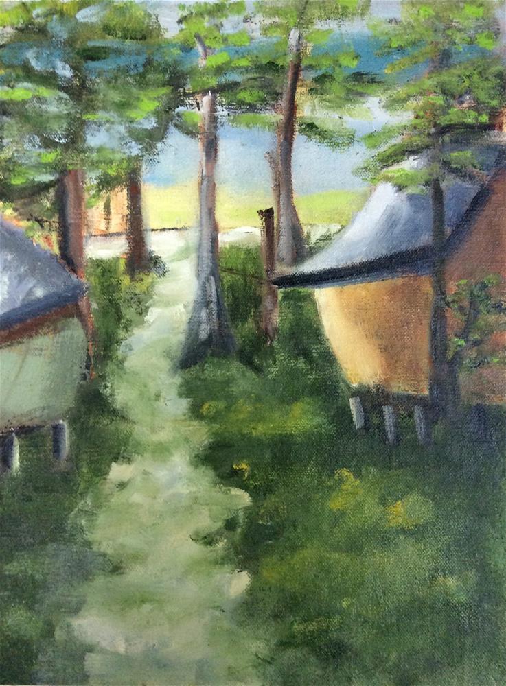 """Mt. Desert Island Maine"" original fine art by Patty Barnes"