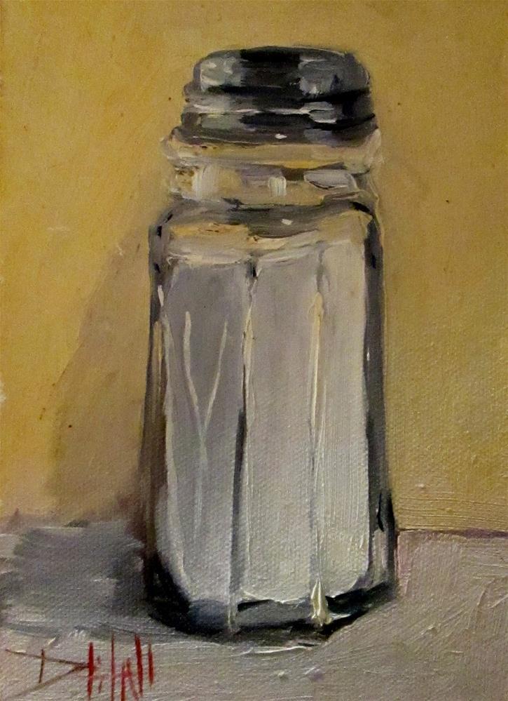 """""""Salt Shaker"""" original fine art by Delilah Smith"""