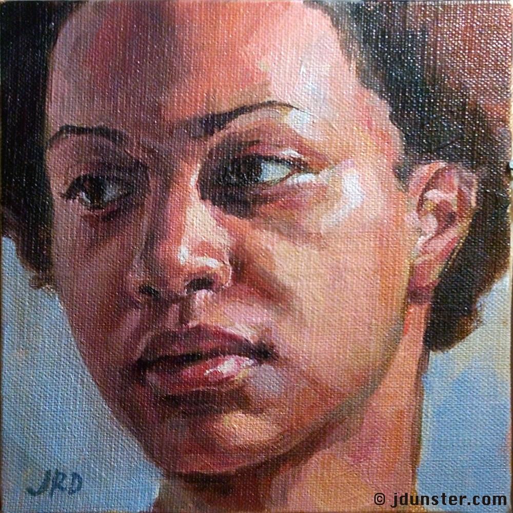 """Nedah"" original fine art by J. Dunster"