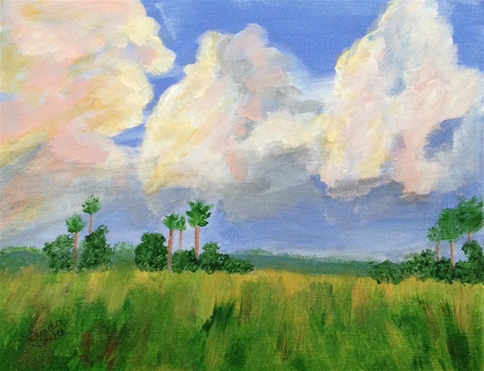 """Everglades"" original fine art by Brenda Smith"