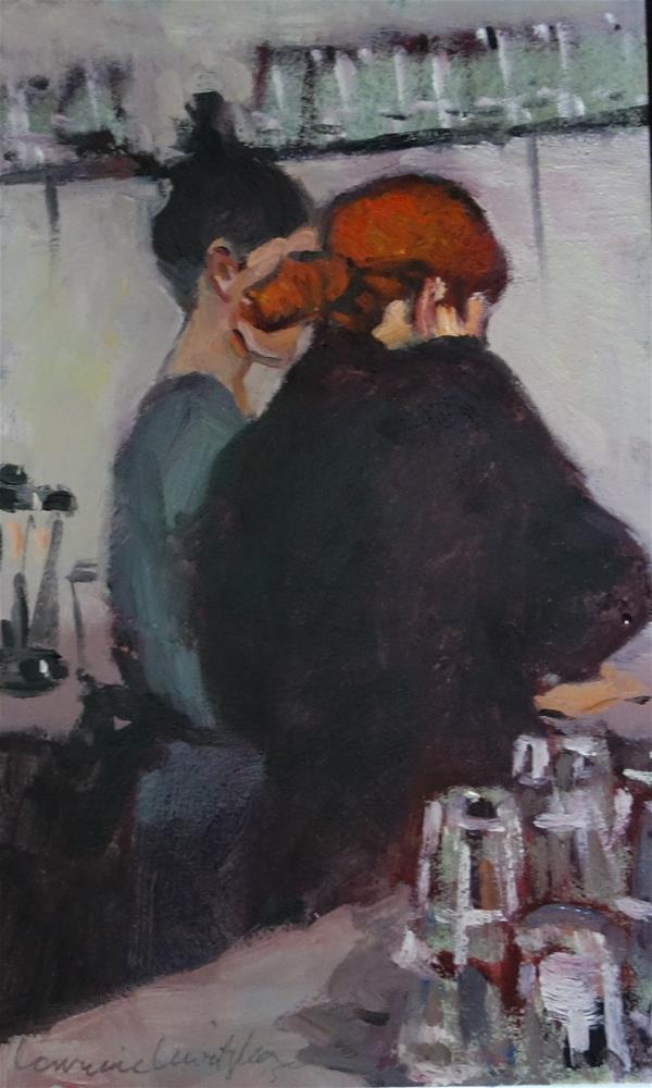 """Food Prep"" original fine art by Lorraine Lewitzka"