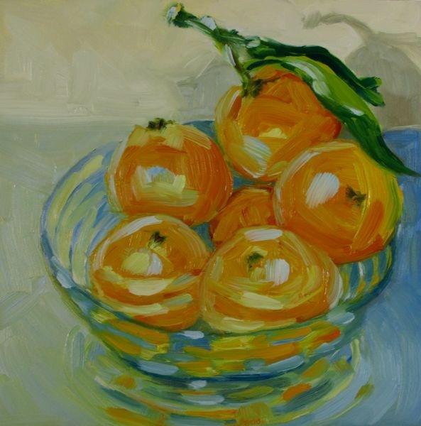 """Clementine's Shadow"" original fine art by Mb Warner"