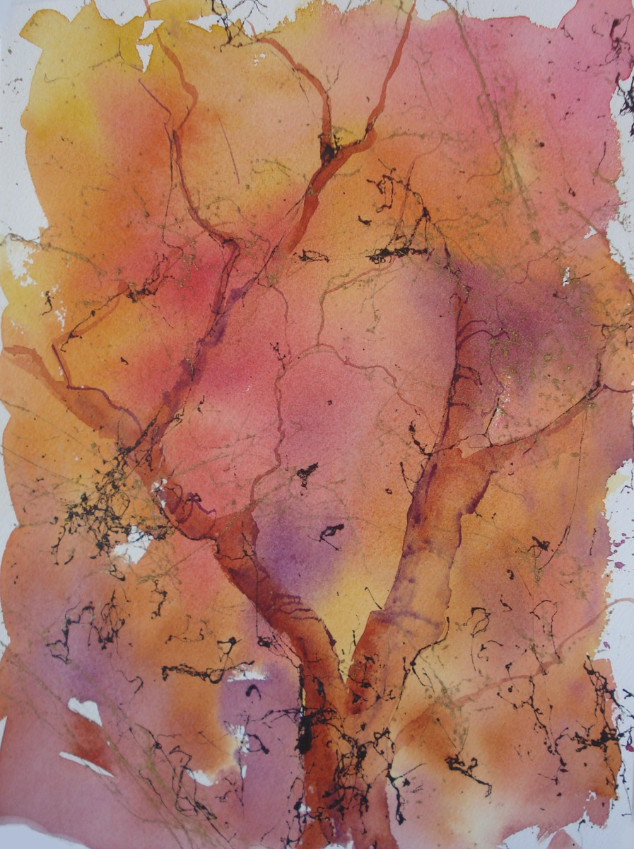 """Fall Foliage"" original fine art by Margie Whittington"