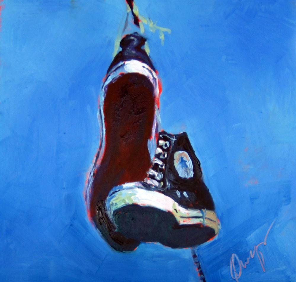 """L"" original fine art by Sharman Owings"