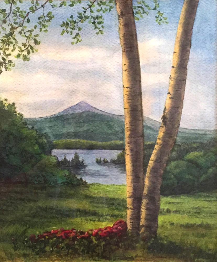 """Mt Chocorua"" original fine art by Elaine Farmer"