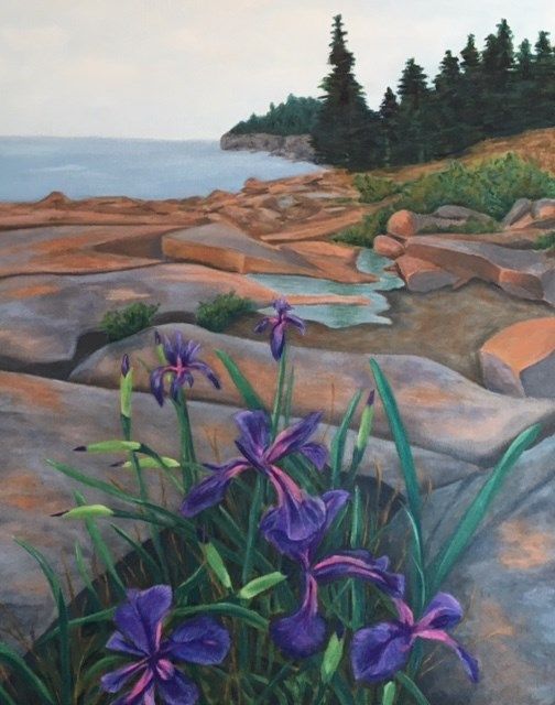 """Destiny Bay"" original fine art by Karen Collins"