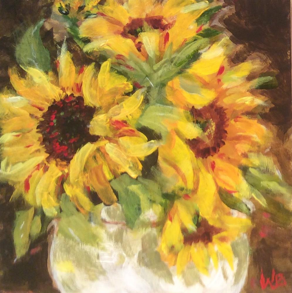 """""""autumn joy"""" original fine art by wendy black"""