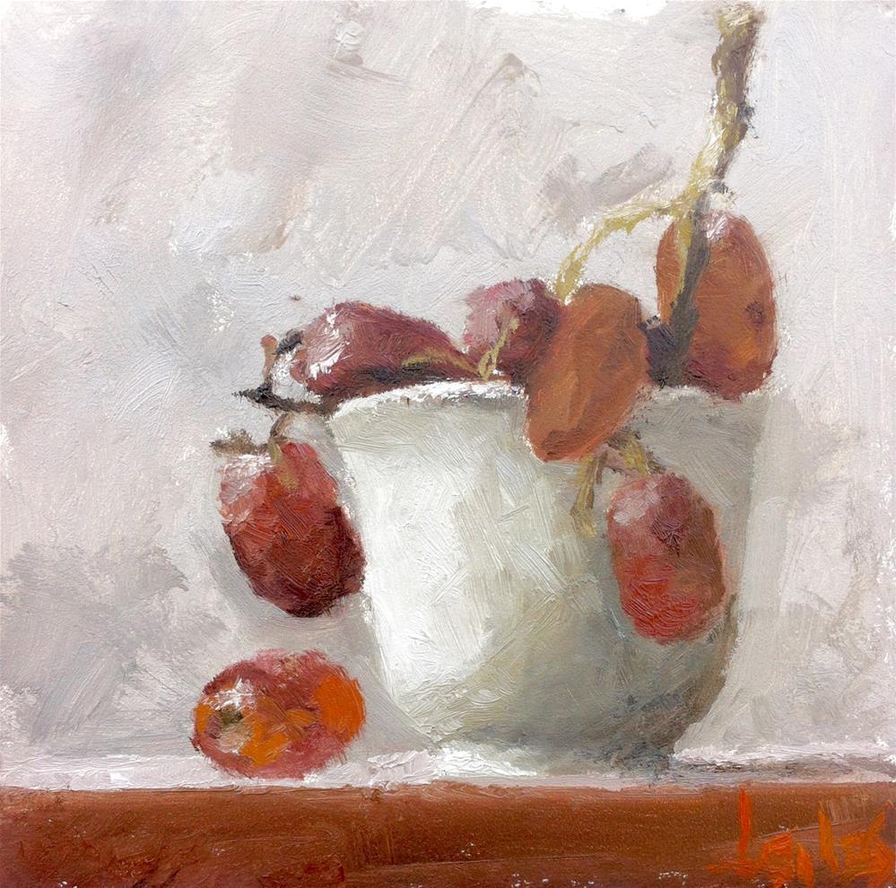 """""""Sour Grapes"""" original fine art by Richard Jones"""