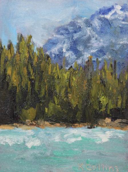 """Somewhere"" original fine art by Kathy Collins"