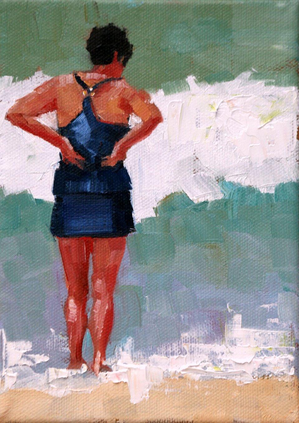 """""""lynn"""" original fine art by Carol Carmichael"""