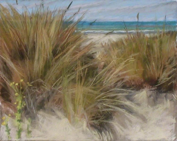 """Ventura Dunes"" original fine art by Susan Z. Forbush"