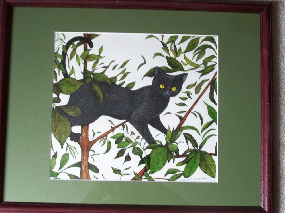 """Treed"" original fine art by Elaine Shortall"