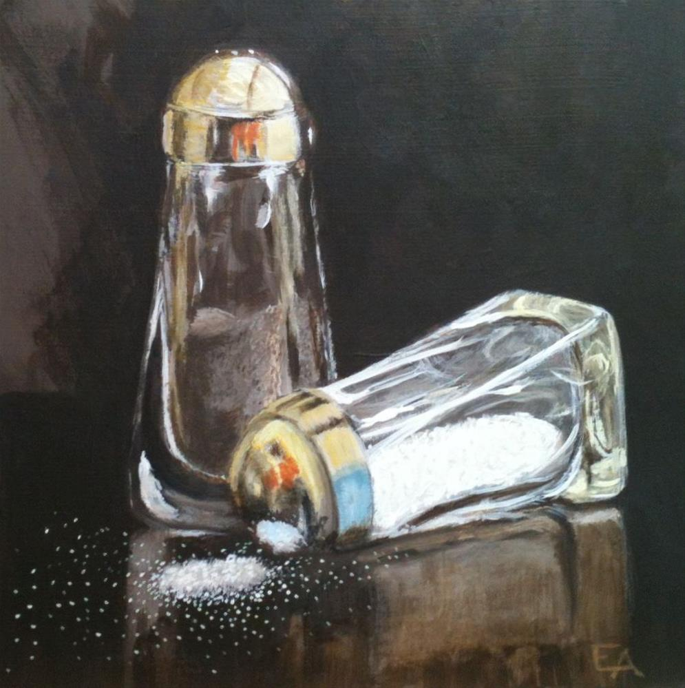 """Salt 'n Pepper"" original fine art by Elizabeth Elgin"